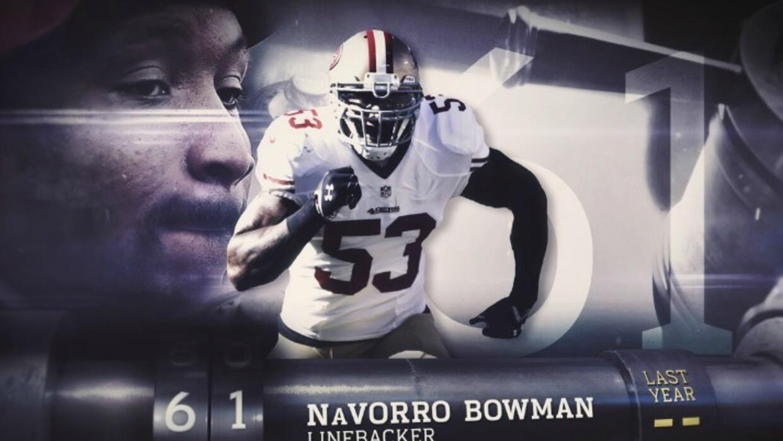 Top 100 Jugadores del 2016: (Lugar 61) ILB NaVorro Bowman