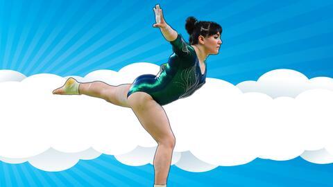 La gimnasta Alexa Moreno representó a México en los Juegos Olímpicos de...