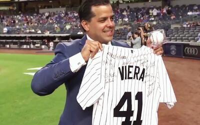 Jorge Viera recibió un reconocimiento por ser la cara de las noticias en...