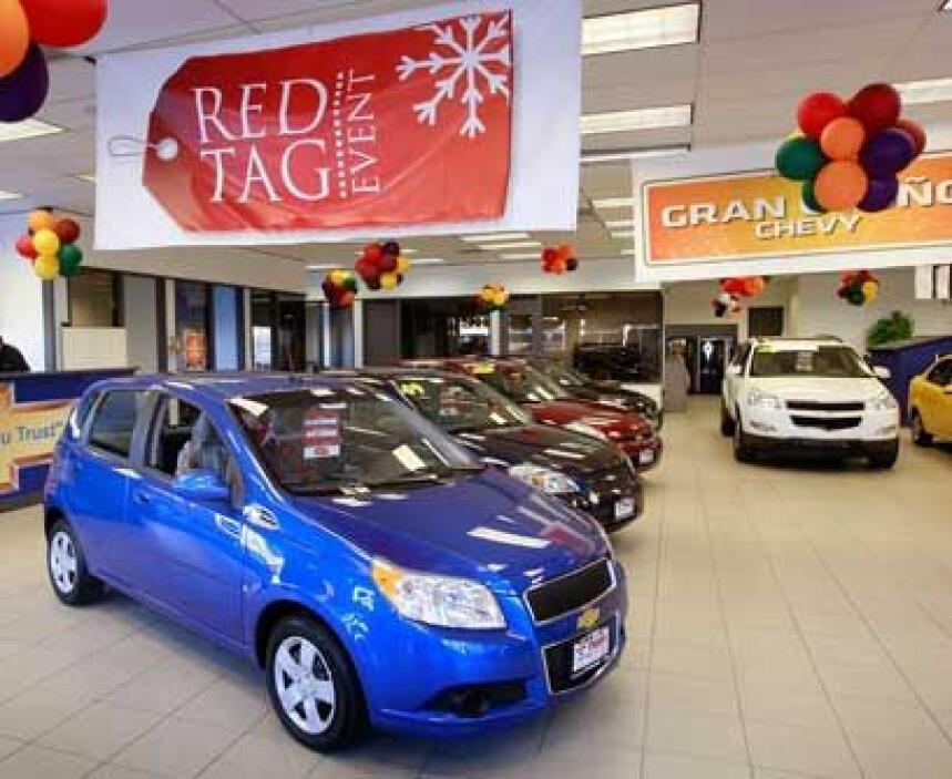 ChevroletEsta marca que forma parte de la nueva General Motors, también...