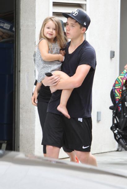 La hermosa hija de David y Victoria Beckham está enorme.