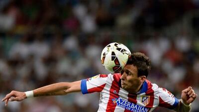 El delantero del Atlético de Madrid se fracturó la nariz en el duelo de...