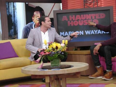 El talentoso actor de Hollywood, Marlon Wayans llegó a Despierta...