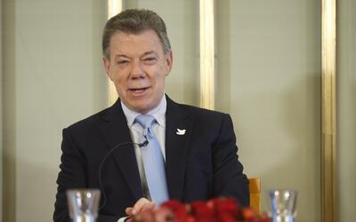Juan Manuel Santos en Oslo