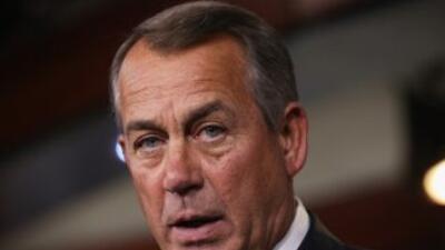 El congresistaJohn Boehner (republicano de Ohio), presidente de la Cáma...
