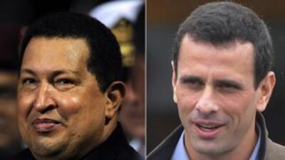La encuesta más reciente en Venezuela dejó en empate técnico a Hugo Cháv...