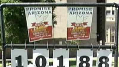 Número de votantes registrados por Promesa Arizona hasta ese momento.