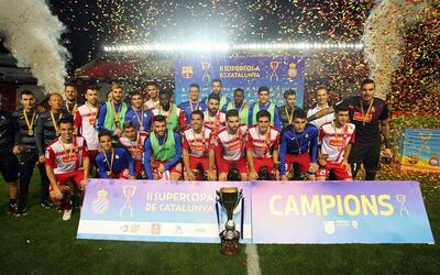 El Espanyol venció al Barcelona por 1-0