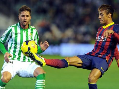 Barcelona se metió al estadio Ruiz de Lopera para enfrentar al Be...