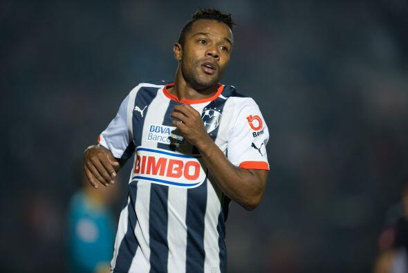 En la novena posición aparece un colombiano de Monterrey, el delantero D...