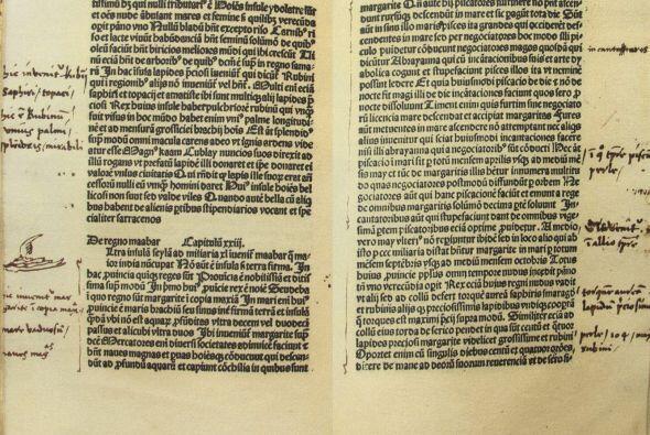 """En el escrito, Colón se refiere a la monarca como """"Cristian&..."""