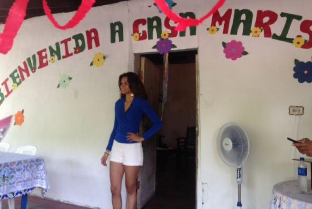 La reina de Nuestra Belleza Latina 2013 salió de esa casa cuando apenas...