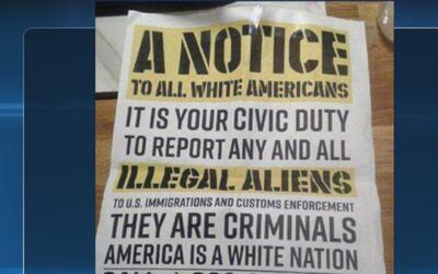 Volante con tintes discriminatorios genera indignación en la comunidad e...