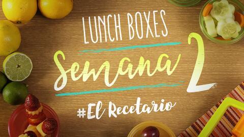 Regreso a clases: diviértete preparando lunch boxes (Semana 2)
