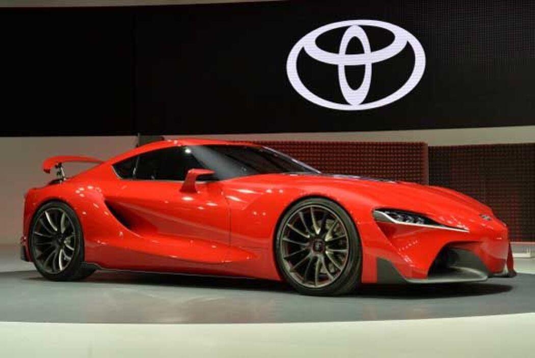 El FT1 de Toyota fue uno de los conceptos más espectaculares que hubo, y...