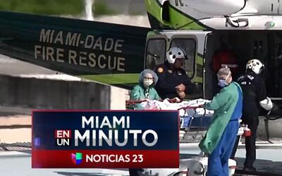 'Miami en un Minuto': buscan al conductor de una camioneta Ford F-150 qu...