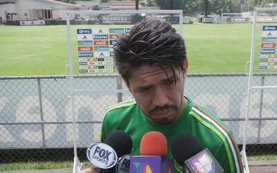 """Oribe Peralta: """"Todos están conscientes de que depende de nosotros ganar..."""