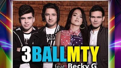 Escucha el estreno del tema de 3BALLMTY y Becky G en las estaciones de U...