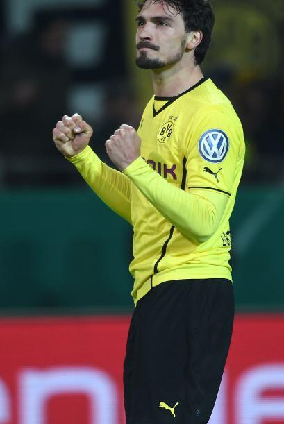 Mats Hummels   Borussia Dortmund   El defensa central alemán es garantía...