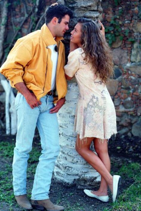 """¿Y qué tal cuando se enamoró de Eduardo Capetillo en """"Marimar""""?"""