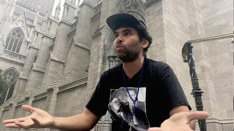 Félix Cepeda, un activista de origen dominicado, inició un...