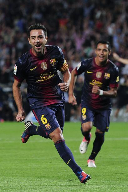 Medio, Xavi: Siempre es toda una costumbre que este jugador tenga grande...