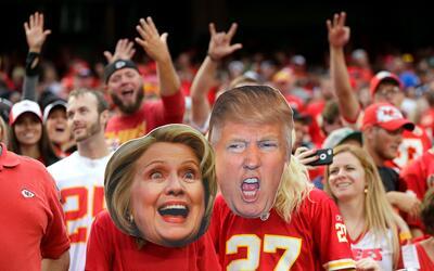 Será el primer debate de la historia estadounidense en el que se enfrent...