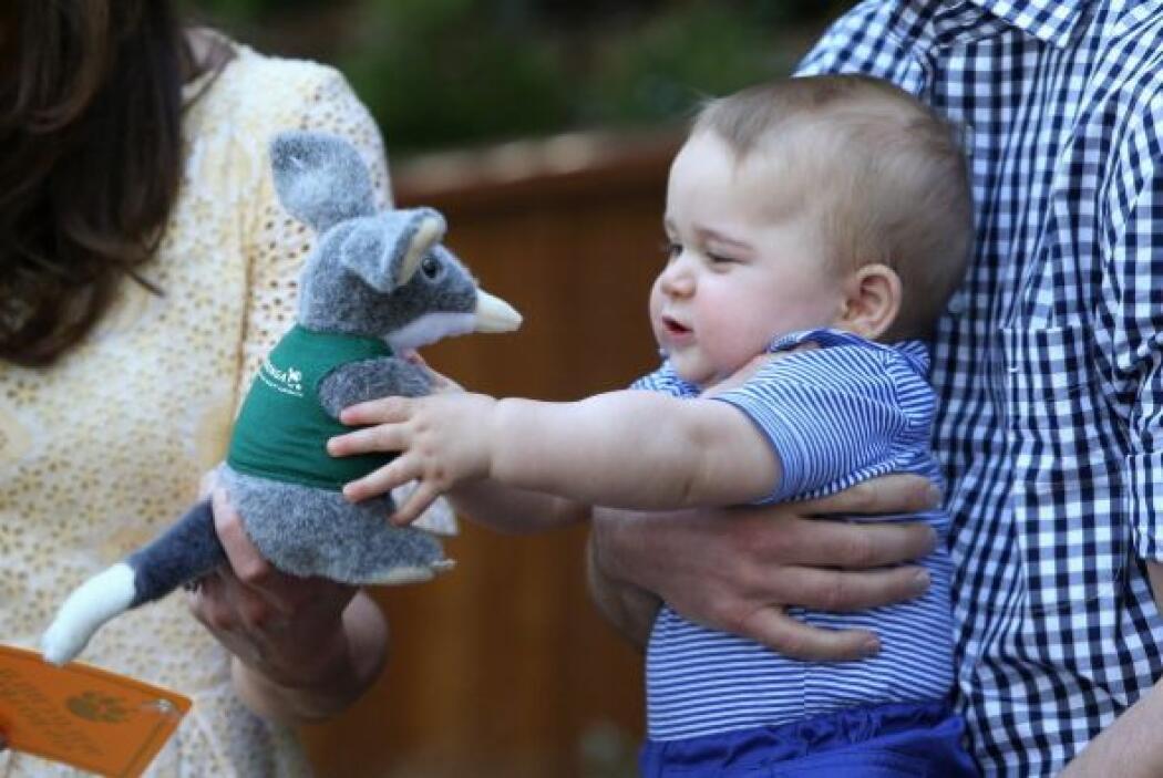 Son muchos los elogios para un bebé de 12 meses que da un sentimiento de...