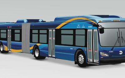 Salen al ruedo en Brooklyn y Manhattan los nuevos autobuses con servicio...