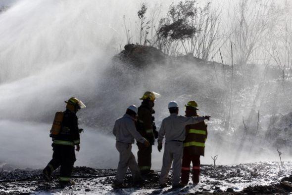 20 de enero de 2009. Un acto vandálico suscitó un derrame de hidrocarbur...
