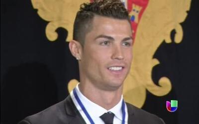 Cristiano Ronaldo fue condecorado como Gran Oficial en Portugal