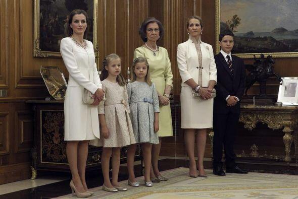 También estuvieron la reina Sofía, la infanta Elena (que no la infanta C...