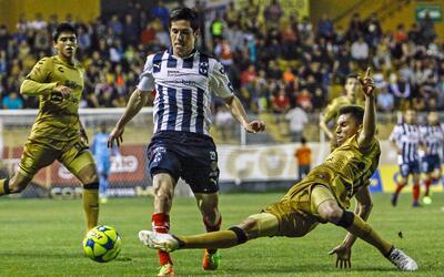 Monterrey goleó a Dorados y avanzó a la siguiente fase de la Copa MX