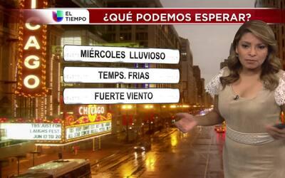 Se esperan lluvias y temperaturas frías para el miércoles