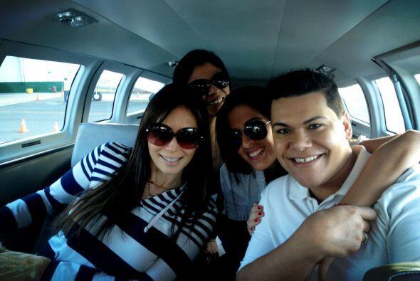 En el avión viajaban Giselle Blondet, El Niño Prodigio y por supuesto, n...