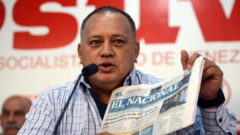 Diosdado Cabello ha sido demandado en un tribunal de Miami por haber rec...