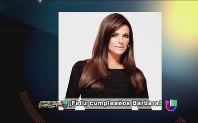Feliz cumpleaños para Bárbara Bermudo en las redes sociales