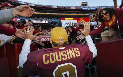 QB y pateador lucieron para liderar a Redskins a victoria sobre Vikings