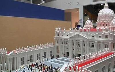 Vaticano con Lego