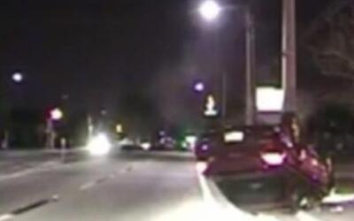 Un joven estrelló su carro por 'textear' mientras conducía