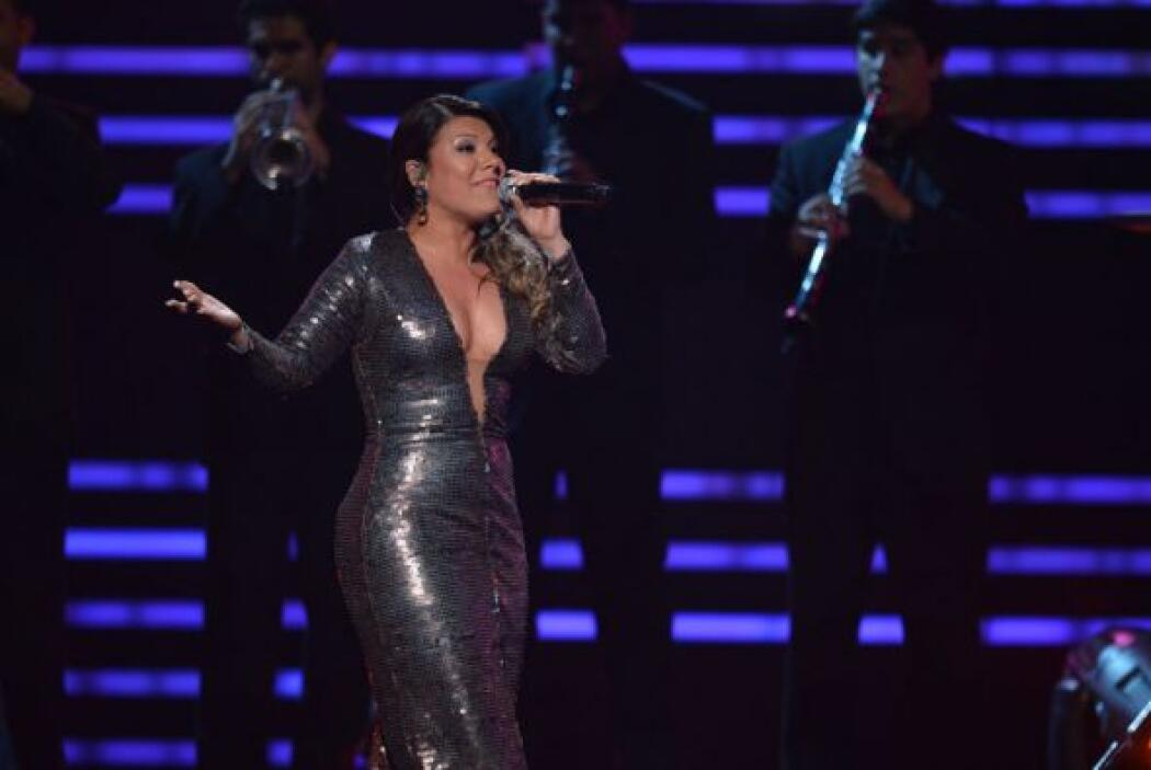 "Al terminar de cantar, Diana Reyes dijo: ""Y te vamos a extrañar, chiquit..."