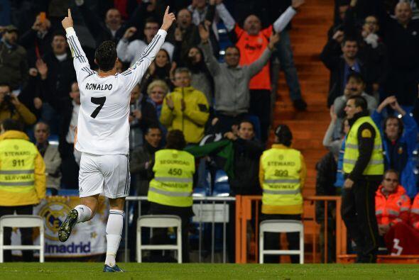 ¿Quién más si no Cristiano para sumar su tercer gol de la noche?