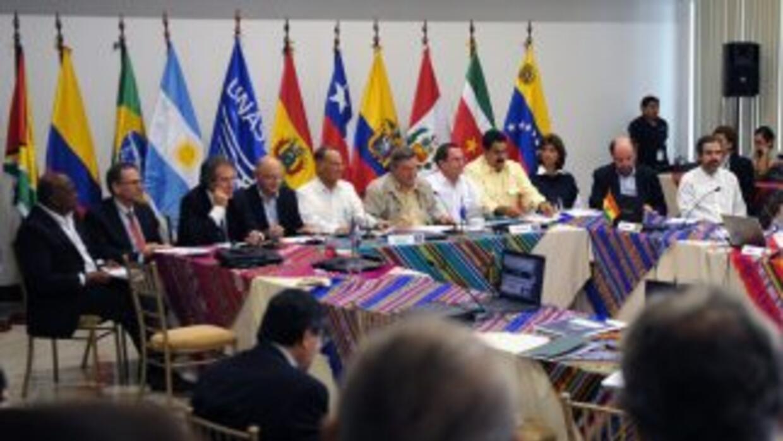 La Unasur respaldó a Ecuador.