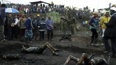 Cerca de 120 personas fallecieron quemadas vivas y más de un centenar fu...