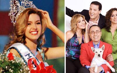 Alicia Machado entregó la corona de Miss Universo el mismo día que comen...