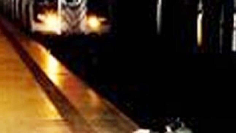 La imagen publicada por el tabloide The New York Post muestra a un hombr...