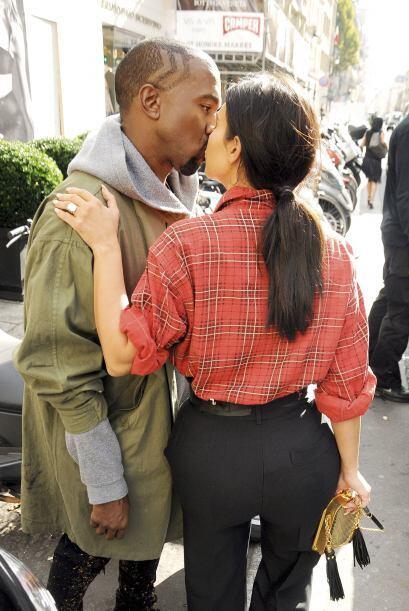 Kim Kardashian Paris Fashion Show