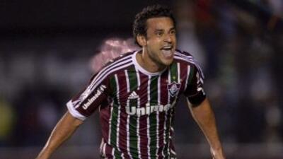 Fred abrió el marcador para el Fluminense en el 2-0 con el que el equipo...