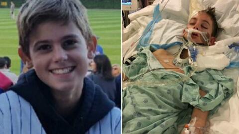 Henry Sembdner, estudiante de 12 años de la secundaria Kenyon Woods fue...