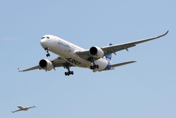 """""""El A350 tiene las mismas innovaciones que el Dreamliner, el the 787"""", d..."""
